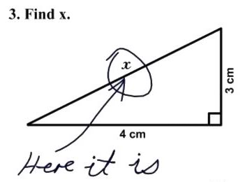 X vinden in twee dimensies