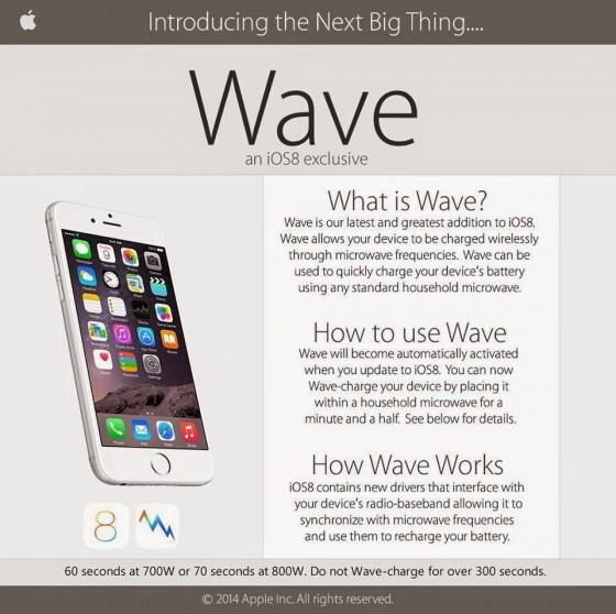 Apple Wave: Apples nieuwe technologie om telefoons snel draadloos op te laden.