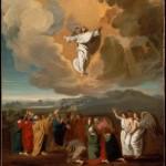 Jezus in een cloud